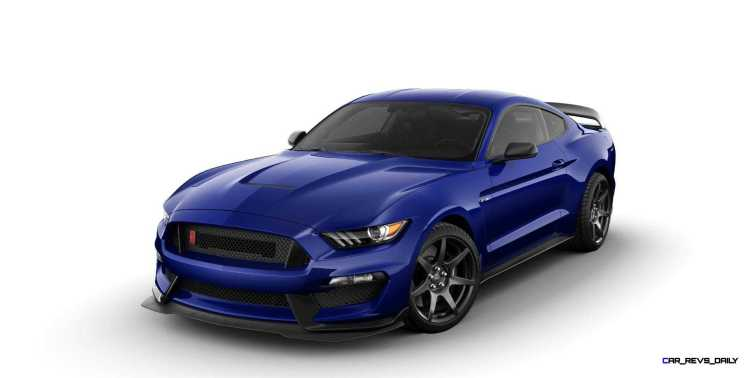 SHELBY GT350R Colors 9
