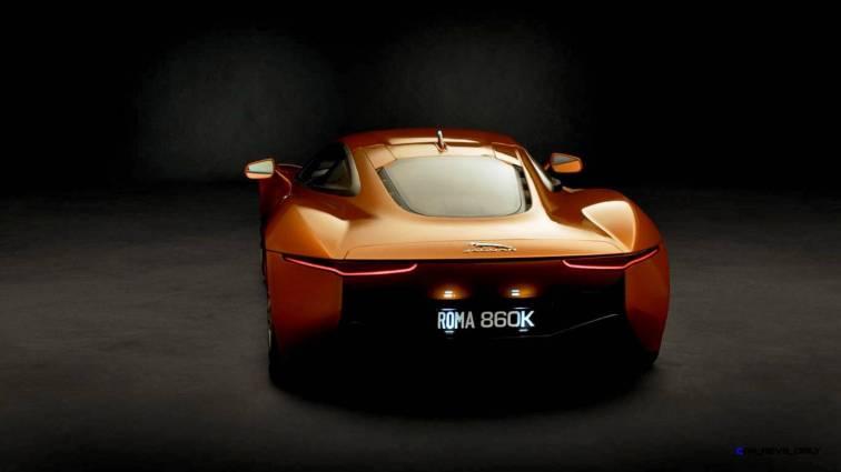 007 SPECTRE Bond Cars - JAGUAR CX-75 Orange 18
