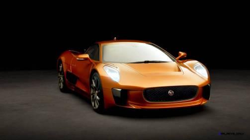 007 SPECTRE Bond Cars - JAGUAR CX-75 Orange 8