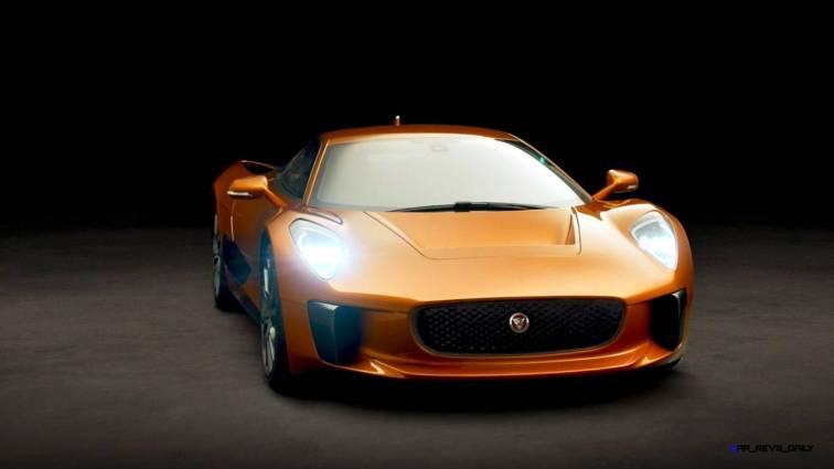 007 SPECTRE Bond Cars - JAGUAR CX-75 Orange 9