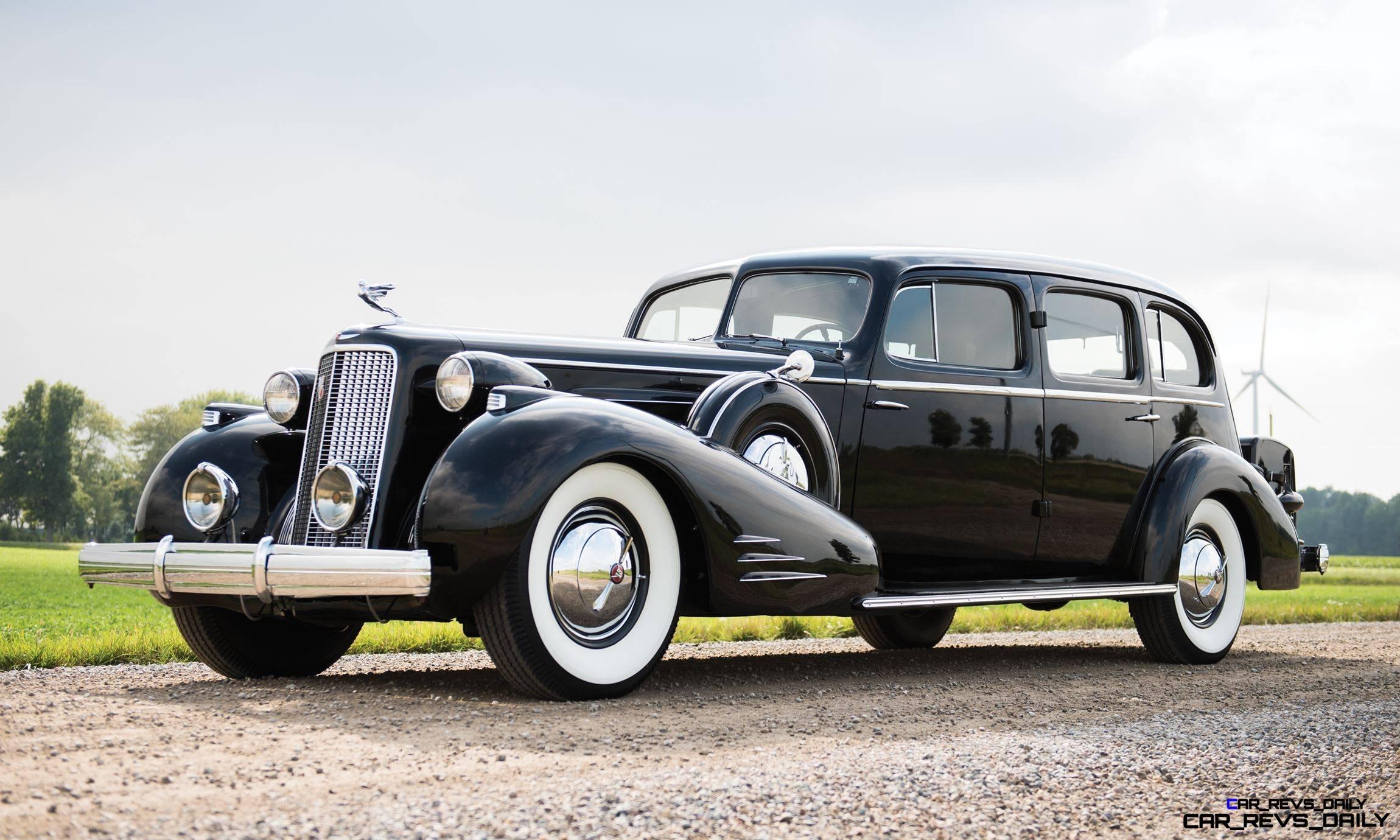 1937 Cadillac V16 Fleetwood Limousine 1