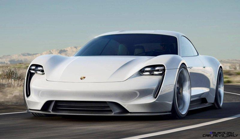 2015 Porsche Mission E 2