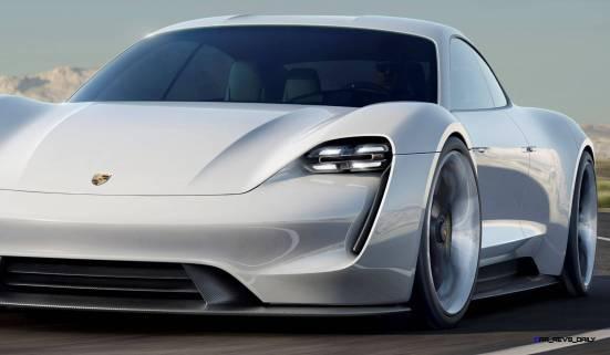 2015 Porsche Mission E 3