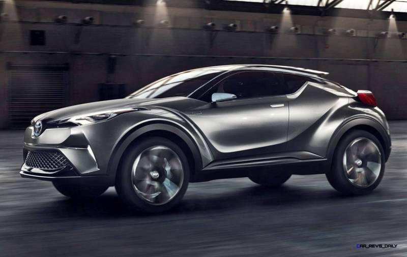 2015 Toyota C-HR Concept 4-Door 12