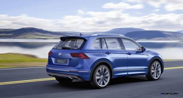 2015 Volkswagen TIGUAN GTE Concept 10