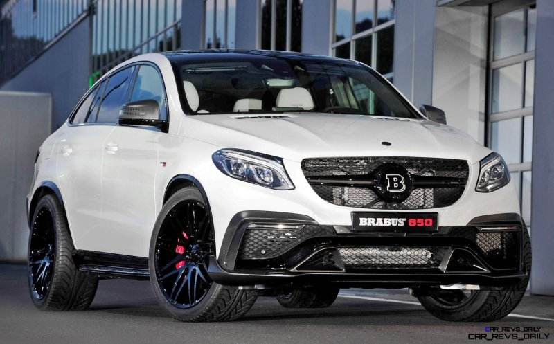 2016 BRABUS 850 4x4 Coupe is GLE63 1