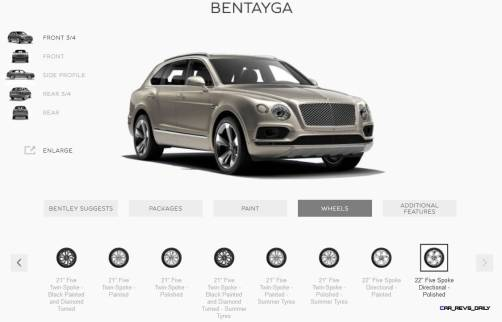 2017 Bentley BENTAYGA Wheels 10