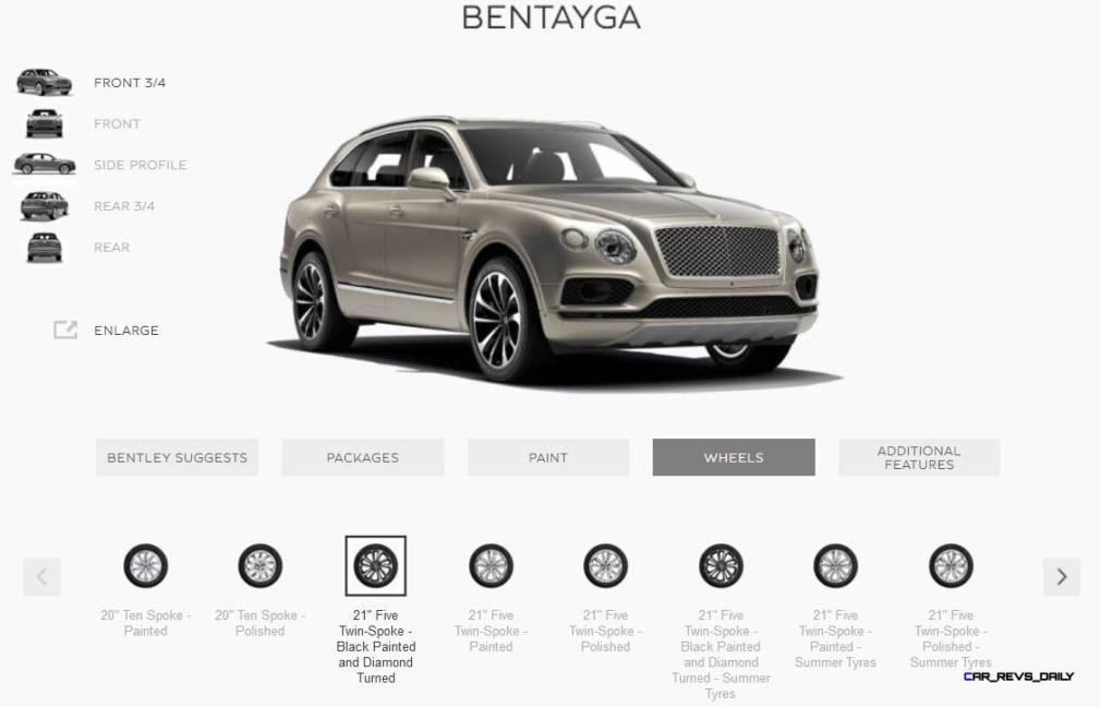 2017 Bentley BENTAYGA Wheels 3