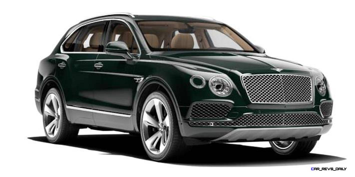 2017 Bentley Bentayga BENTLEY SUGGESTS COLORS 2