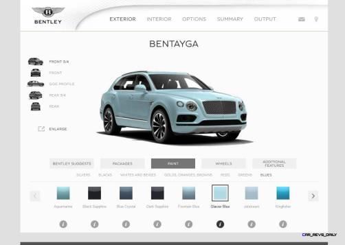 Bentayga Color Samples 12