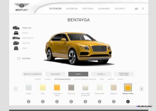 Bentayga Color Samples 28