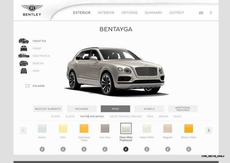 Bentayga Color Samples 6