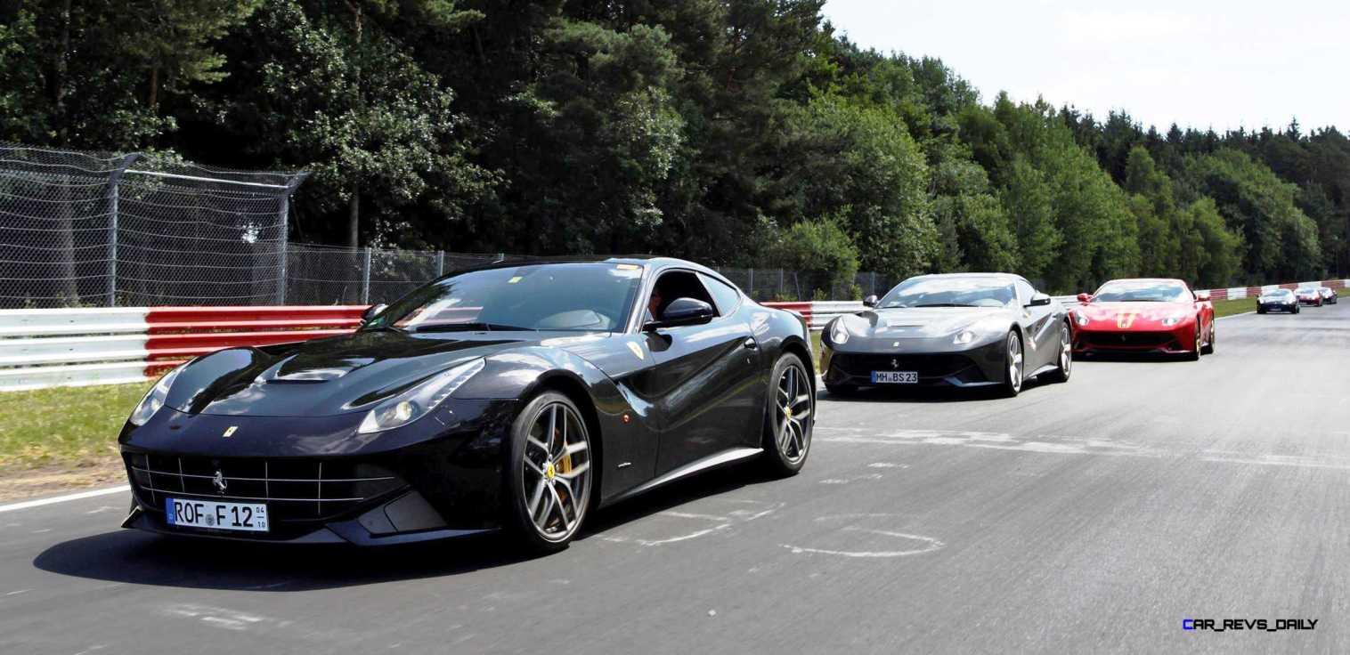 Ferrari Car Cavalcade 2015 Nurburgring 5