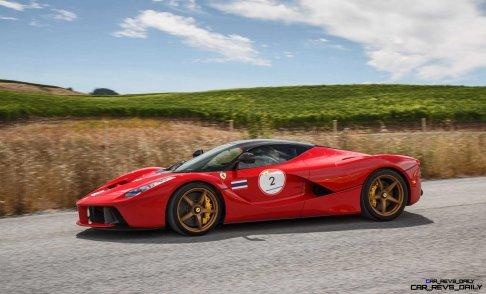 Ferrari Car Cavalcade 2015 USA 1