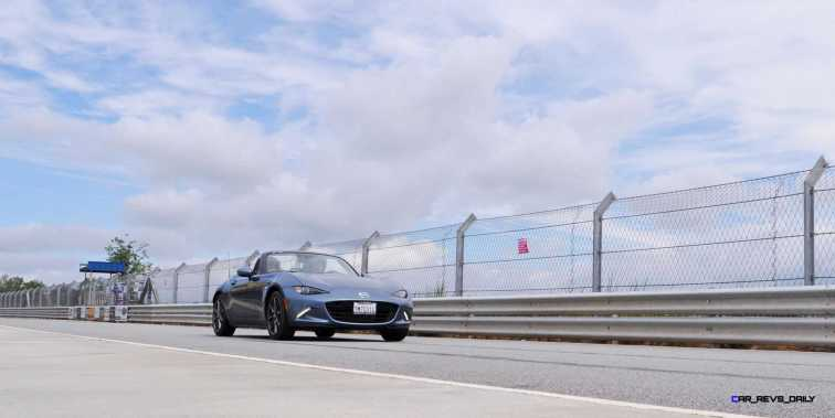 HD First Track Drive Review - 2016 Mazda MX-5 105