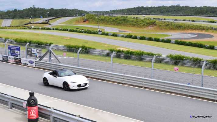 HD First Track Drive Review - 2016 Mazda MX-5 108