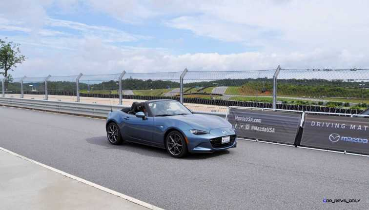 HD First Track Drive Review - 2016 Mazda MX-5 71