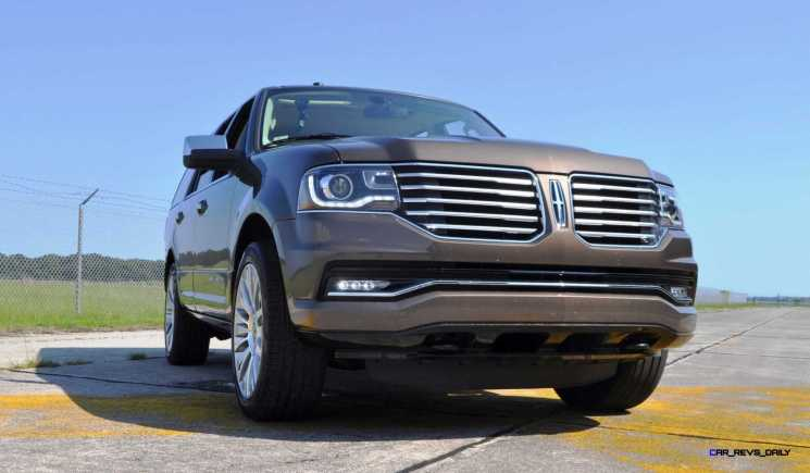 HD Road Test Review - 2015 Lincoln NAVIGATOR 4x4 Reserve 101