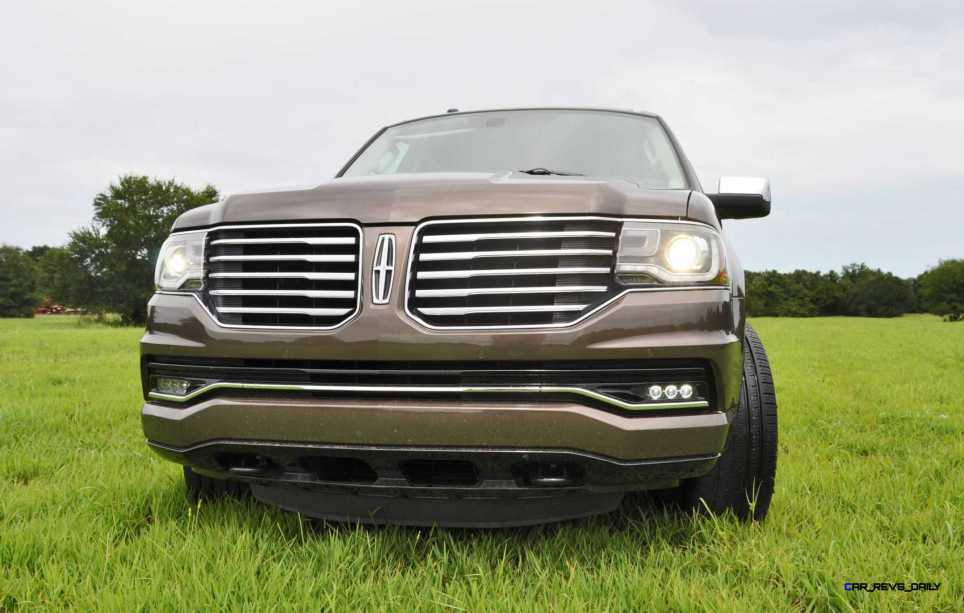 HD Road Test Review - 2015 Lincoln NAVIGATOR 4x4 Reserve 55