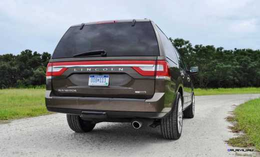 HD Road Test Review - 2015 Lincoln NAVIGATOR 4x4 Reserve 72