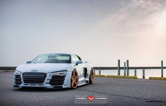 Hamana Audi R8 V10 - Vossen Forged VPS-302 Wheels -_20351185832_o