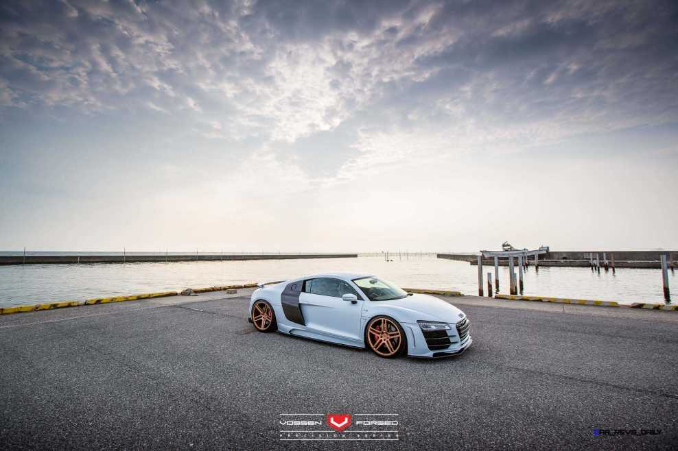 Hamana Audi R8 V10 - Vossen Forged VPS-302 Wheels -_20365793151_o
