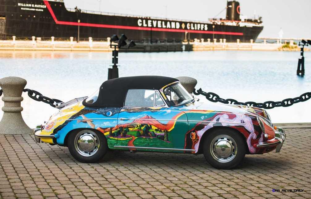 Janis Joplin 1964 Porsche 356C 2