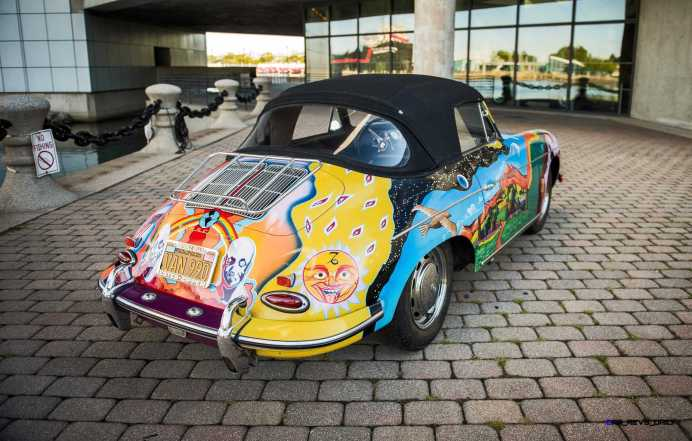 Janis Joplin 1964 Porsche 356C 5