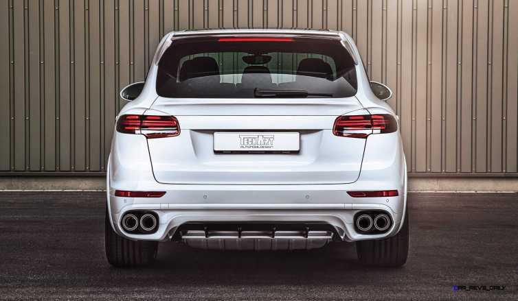 TechArt 2016 Porsche Cayenne Turbo Powerkit 7