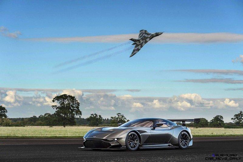 2016 Aston Martin VULCAN meets Avro VULCAN Bomber 6