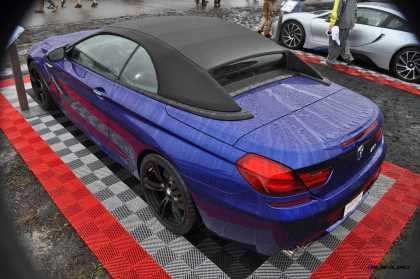 2016 BMW M6 Convertible - San Merino Blue 19