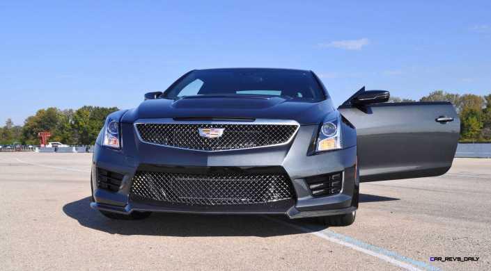 2016 Cadillac ATS-V Coupe 2