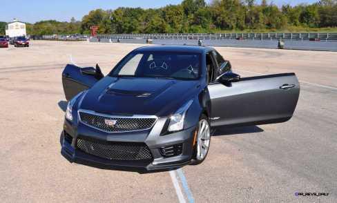 2016 Cadillac ATS-V Coupe 20