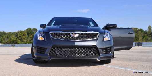 2016 Cadillac ATS-V Coupe 4