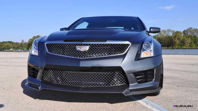 2016 Cadillac ATS-V Coupe 40
