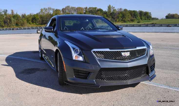 2016 Cadillac ATS-V Coupe 50