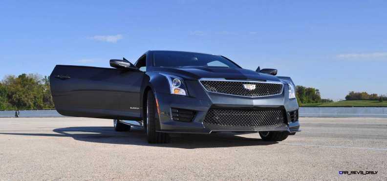 2016 Cadillac ATS-V Coupe 9