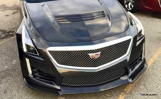 2016 Cadillac CTS-V Phantom Grey and Carbon Package 61