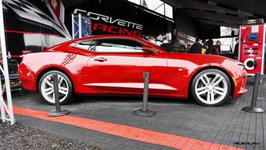 2016 Chevrolet CAMARO SS Shows Chisel-Flow Redesign at Petit Le Mans 23