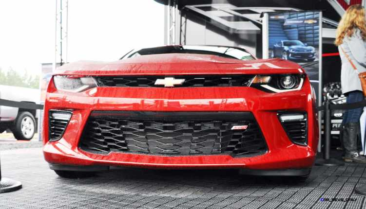 2016 Chevrolet CAMARO SS Shows Chisel-Flow Redesign at Petit Le Mans 4