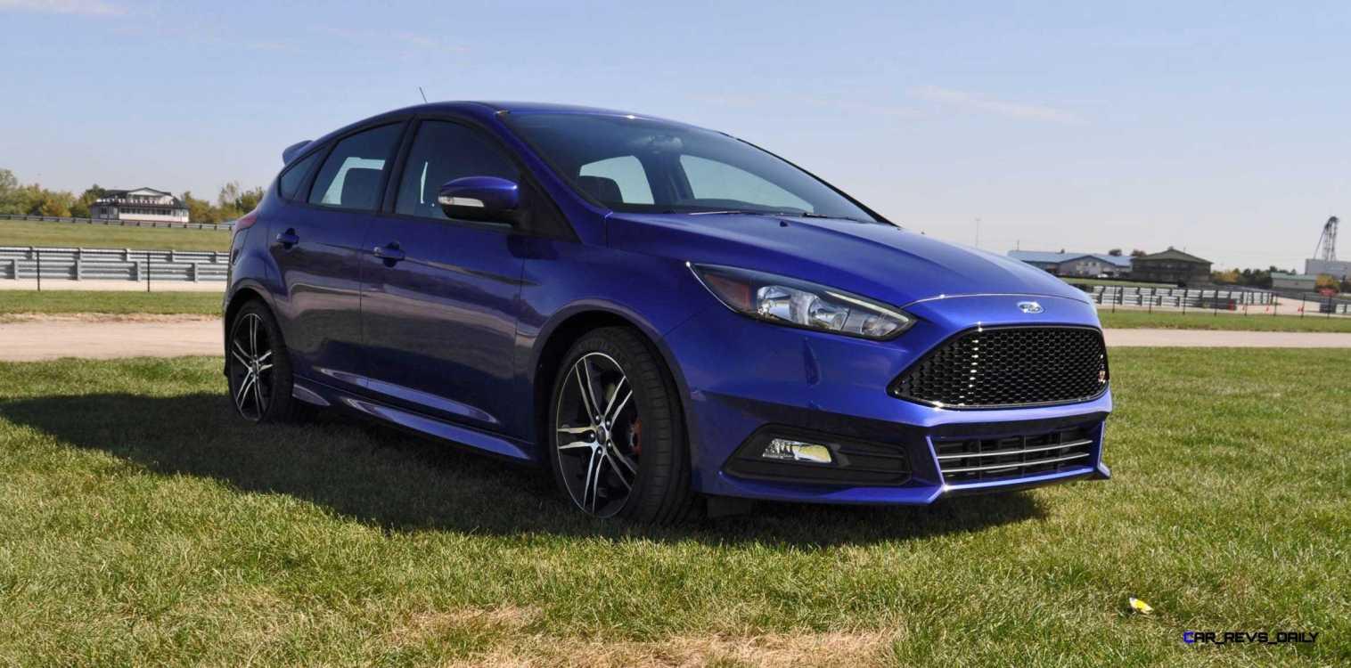 2016 Ford FOCUS ST Kona Blue 15