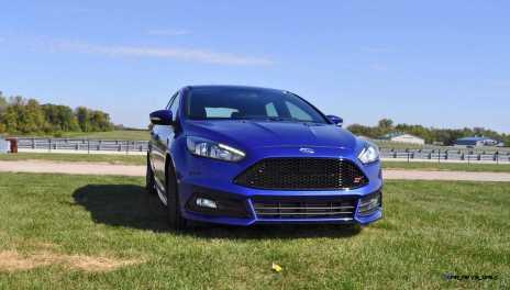 2016 Ford FOCUS ST Kona Blue 18