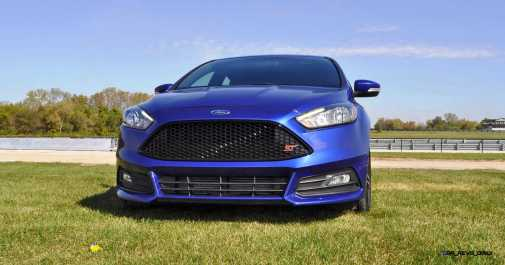 2016 Ford FOCUS ST Kona Blue 2