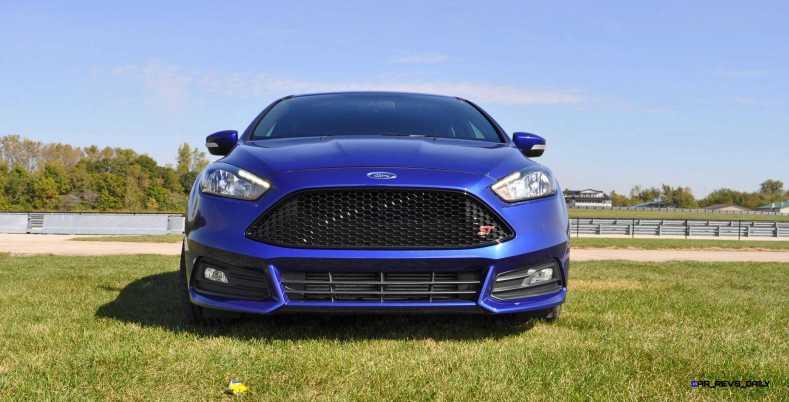 2016 Ford FOCUS ST Kona Blue 6