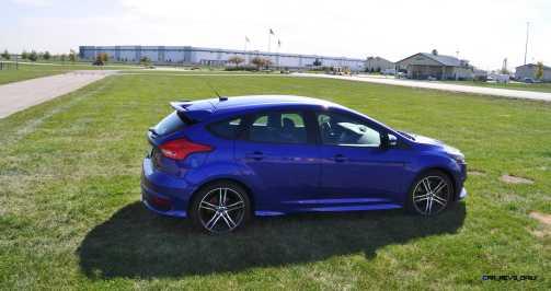 2016 Ford FOCUS ST Kona Blue 80