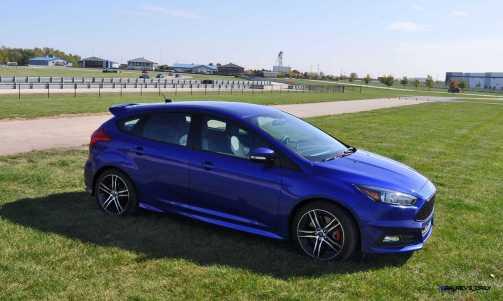 2016 Ford FOCUS ST Kona Blue 90
