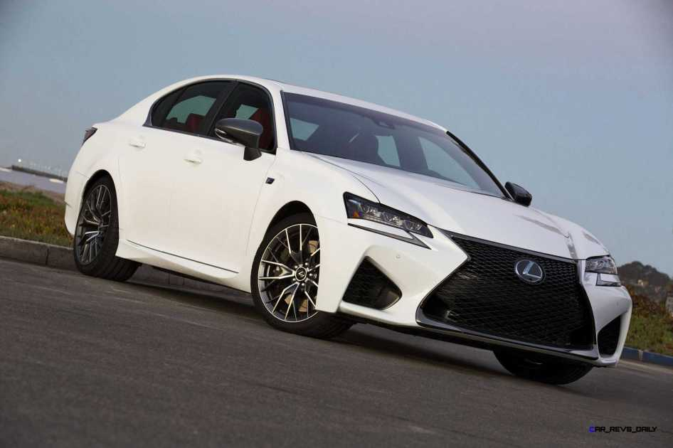 2016 Lexus GS-F 6