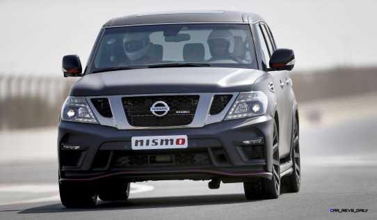 2016 Nissan Patrol NISMO Black 2