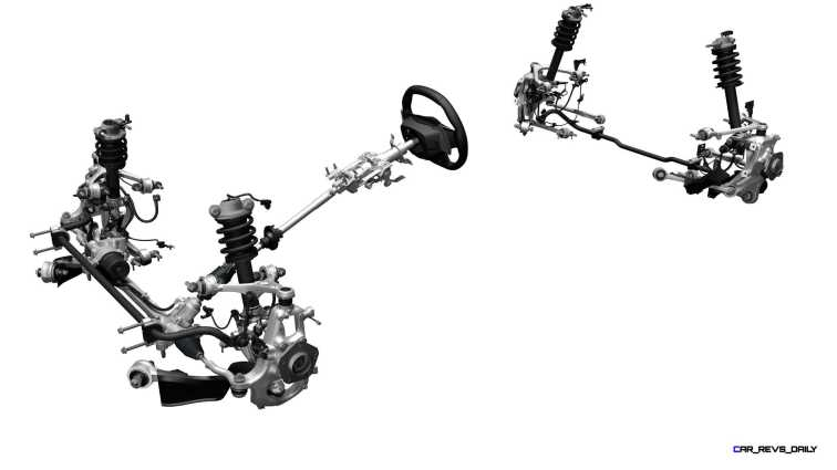2017 Acura NSX - Suspension & Steering System.