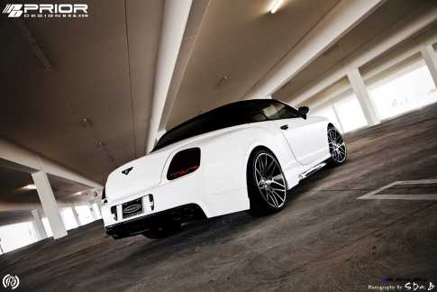 Prior Design Bentley Continental GT GTC Aerodynamics in Matte White_6892698292_o